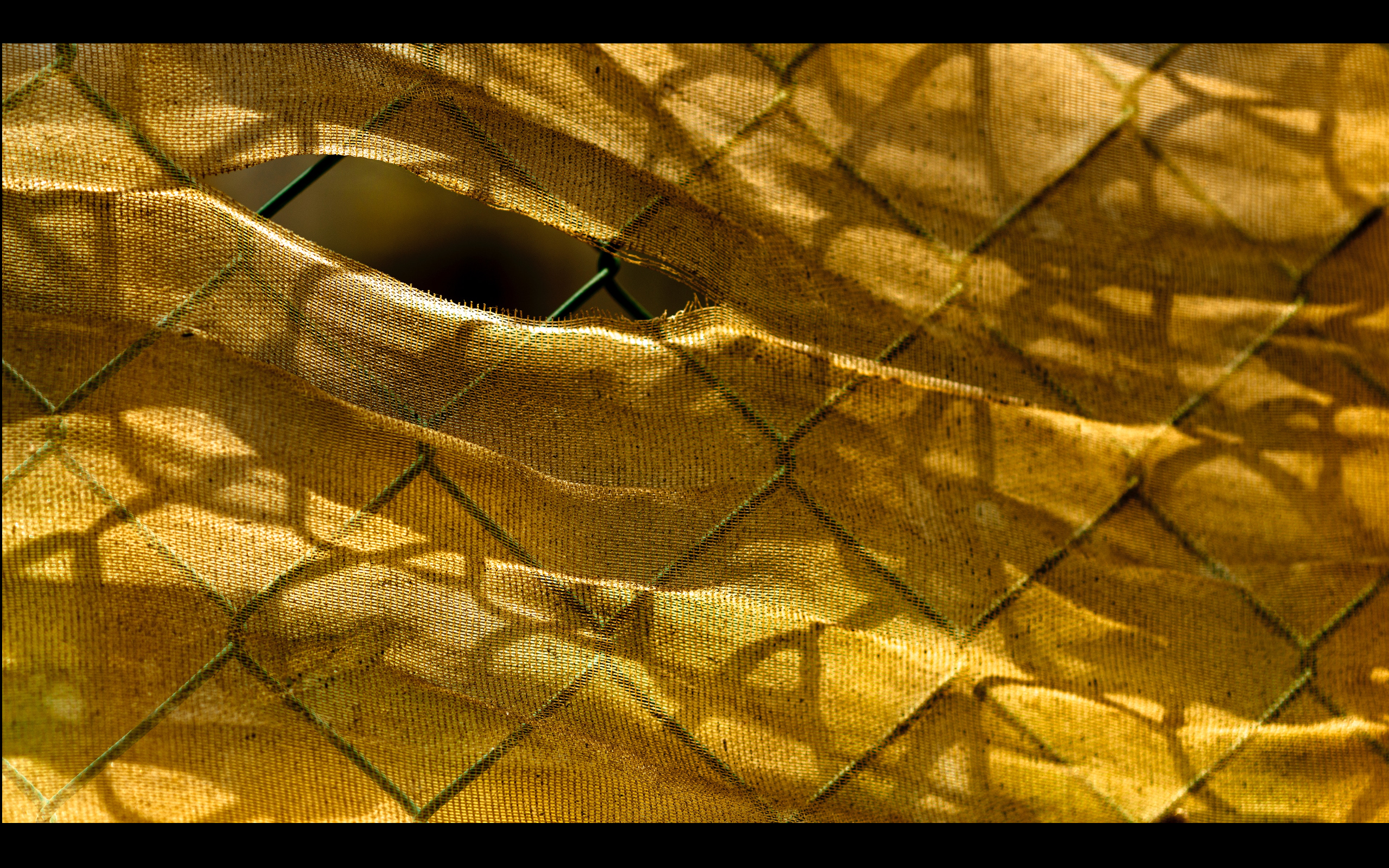 photo of a ripped textile
